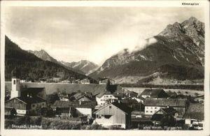 Stanzach Tirol Teilansicht Lechtal Klimmspitze Hornbachkette Kat. Stanzach