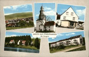 Holzhausen Siegerland Gemischtwaren Ernst Heinz Kat. Burbach
