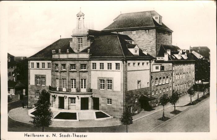 Heilbronn Neckar Stadttheater Kat. Heilbronn