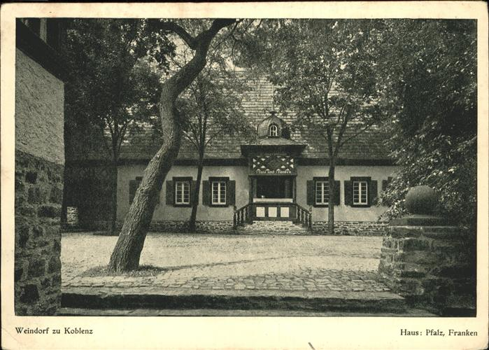 Koblenz Weindorf Kat. Koblenz