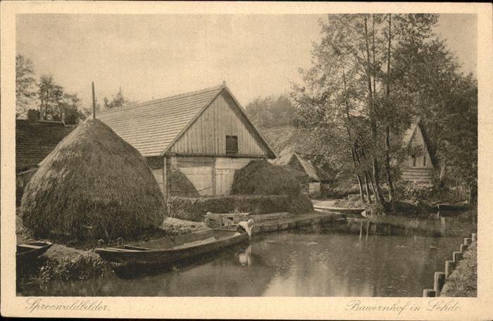 Lehde Bauernhof in Lehde Kat. Luebbenau