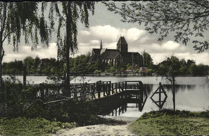 Ratzeburg Blick zum Dom Kat. Ratzeburg