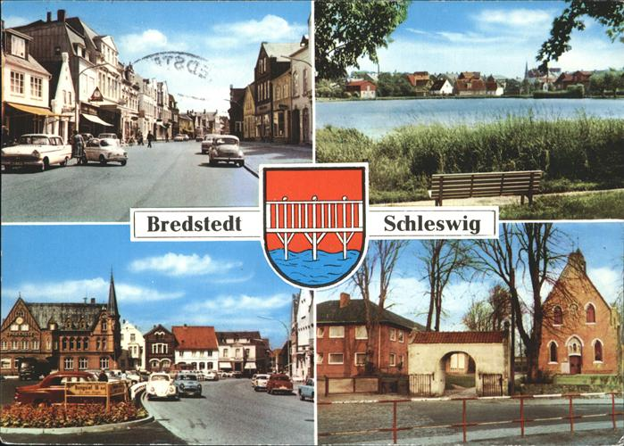 Bredstedt Teilansichten Kat. Bredstedt