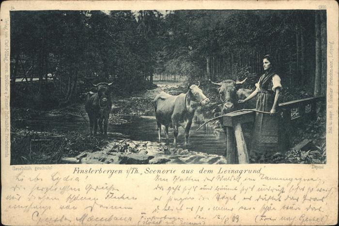 Finsterbergen Szenen aus dem Leinagrund Kat. Finsterbergen