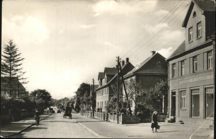 Bad Kleinen Mecklenburg Vorpommern Hauptstrasse