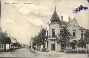 Preussisch Oldendorf Bahnhofstrasse Kat. Preussisch Oldendorf