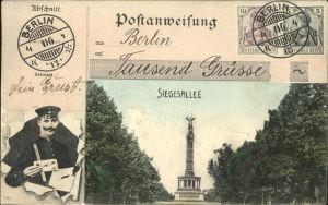 Berlin Siegesallee Denkmal Kat. Berlin