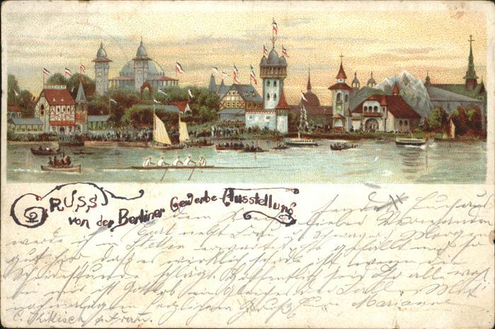 Berlin V 1896 Berliner Gewerbe Ausstellung Kaiser