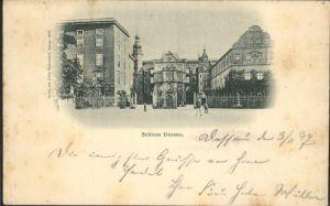 Dessau-Rosslau Herzogliches Schloss / Dessau-Rosslau /Anhalt-Bitterfeld LKR
