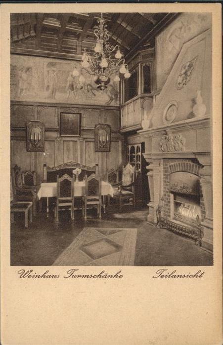 Eisenach Thueringen Weinhaus Turmschaenke Teilansicht Kat. Eisenach ...