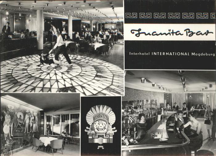 Magdeburg Sachsen Anhalt Interhotel International Juanita Bar Kat. Magdeburg