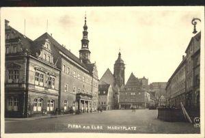 Pirna Marktplatz Kat. Pirna