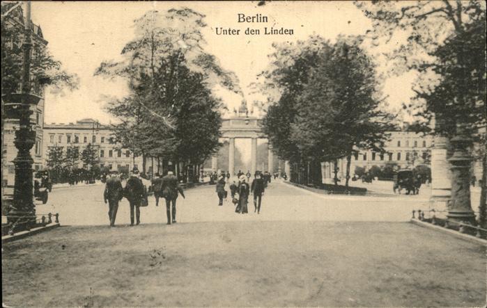 Berlin Unter den Linden Kat. Berlin