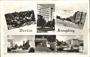 Kreuzberg Berlin Hasenheide Mehringdam / Berlin /Berlin Stadtkreis