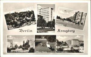 Kreuzberg Berlin Hasenheide Mehringdamm Stoerche / Berlin /Berlin Stadtkreis