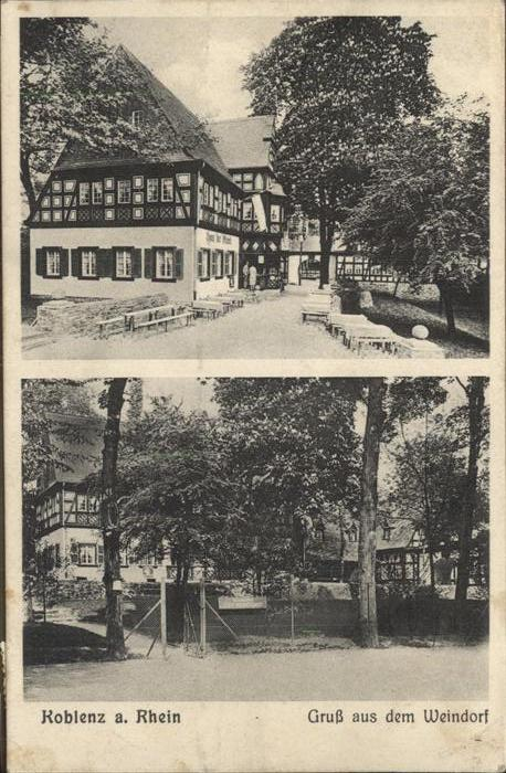 Koblenz Coblenz Weindorf Kat. Koblenz