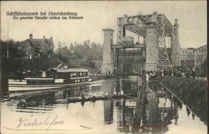 Henrichenburg Schiffshebewerk Schiffshebewerk Schiffe Boote / Waltrop /Recklinghausen LKR