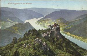 Schoenbuehel Aggsbach Burgruine Aggstein Wachau Donau Kat. Schoenbuehel Aggsbach