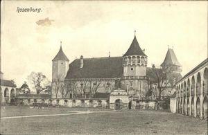 Rosenburg Mold Burg Rosenburg Kat. Rosenburg Mold