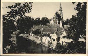 Meisenheim Glan Partie am Glan Schlosskirche / Meisenheim /Bad Kreuznach LKR