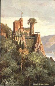 Trechtingshausen Burg Rheinstein / Trechtingshausen /Mainz-Bingen LKR