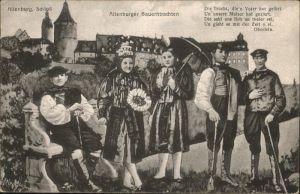 Altenburg Thueringen Schloss Altenburger Bauerntrachten / Altenburg /Altenburger Land LKR