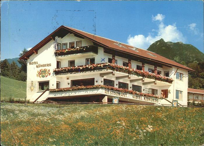 Ak ansichtskarte seifriedsberg sonthofen kirche kat blaichach nr kb33979 oldthing for Hotel in sonthofen