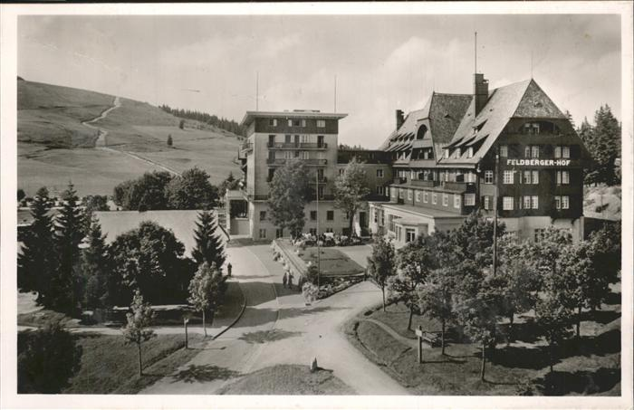 Feldberg Schwarzwald Hotel Feldberger Hof  Kat. Feldberg (Schwarzwald)