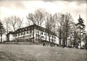 Aachen Jugendherberge Colynshof Viehweide Kuh Kat. Aachen