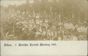 Nuernberg Festzug Turnfest 1903 Kat. Nuernberg