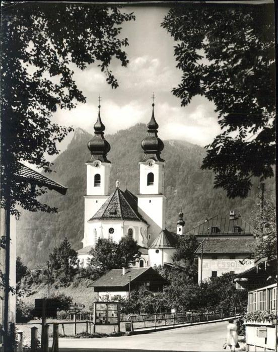 Aschau Kirche Kat. Aschau i.Chiemgau