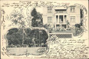 Hamburg Villa Elbschlucht Oevelgoenner Faehrhaus Kat. Hamburg