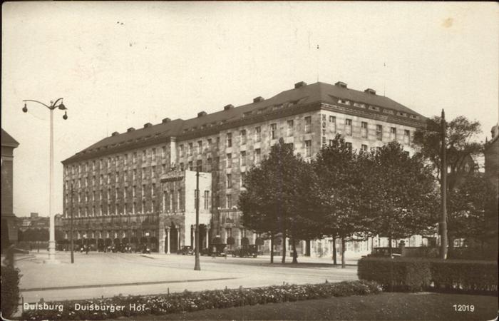 Duisburg Ruhr Duisburger Hof / Duisburg /Duisburg Stadtkreis