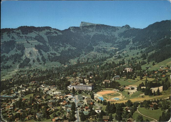 Villars sur Ollon Lumieres Couleurs Alpes Vaudoises Kat. Villars sur Ollon