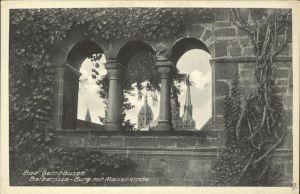 Gelnhausen Barbarossa Burg Marienkirche Kat. Gelnhausen