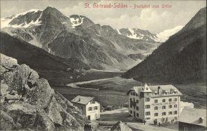 St Gertraud Oesterreich Posthotel zum Ortler Alpenpanorama Kat. Villach