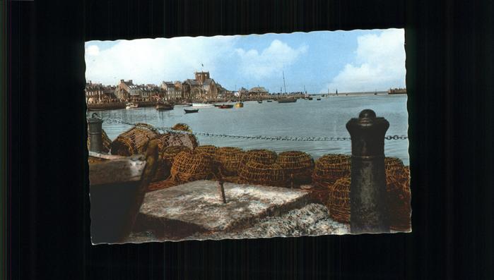 Barfleur Manche Les Quais et l entree du Port Kat. Barfleur