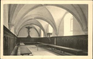 Grande Chartreuse Monastere de la Grande Chartreuse Refectoire des Peres Kat. Saint Pierre de Chartreuse