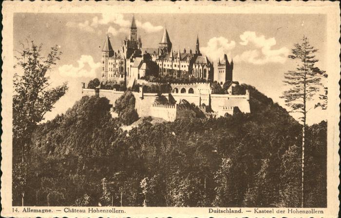 Burg Hohenzollern Chateau Hohenzollern Kat. Bisingen