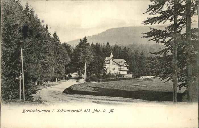 Breitenbrunnen Teilansicht Kat. Sasbachwalden