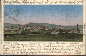 wx64015 Loebau Sachsen Lunakarte Stadt Bruecke Kategorie. Loebau Alte Ansichtskarten