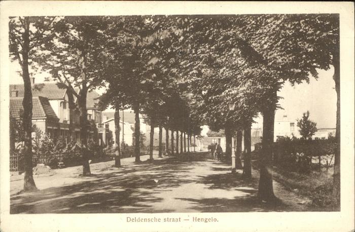 Hengelo Deldensche straat Kat. Hengelo