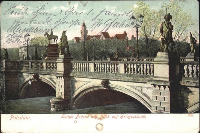 Potsdam Lange Bruecke, Kriegsschule / Potsdam /Potsdam Stadtkreis