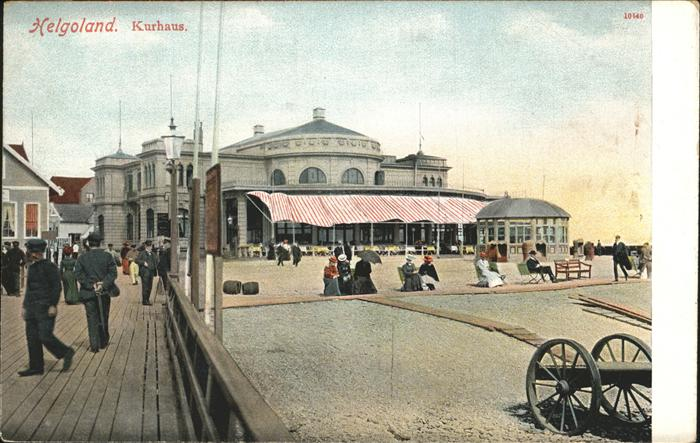 Helgoland Kurhaus / Helgoland /Pinneberg LKR