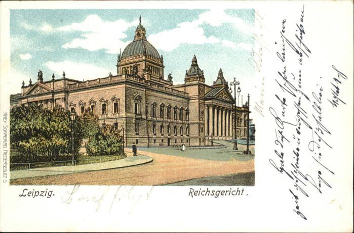 Leipzig Reichsgericht / Leipzig /Leipzig Stadtkreis