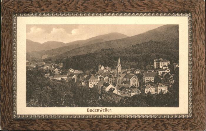 Badenweiler Gesamtansicht / Badenweiler /Breisgau-Hochschwarzwald LKR