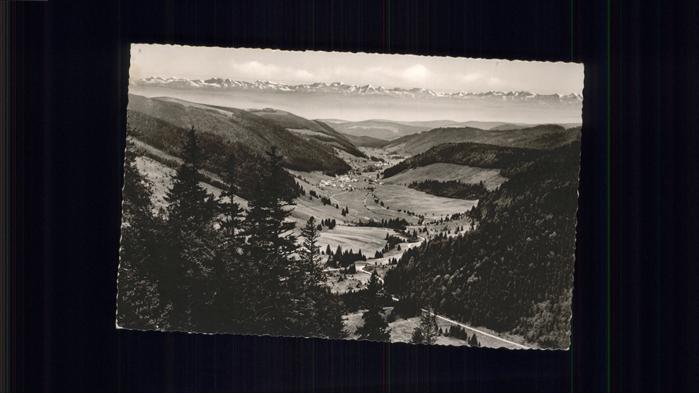 Feldberg Schwarzwald Menzenschwander Tal Schweizer Alpen / Feldberg (Schwarzwald) /Breisgau-Hochschwarzwald LKR