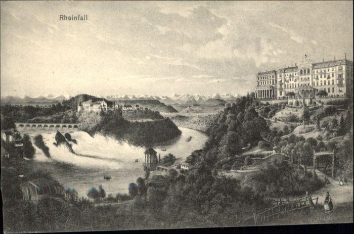 Schaffhausen SH Schaffhausen ? Rheinfall * / Schaffhausen /Bz. Schaffhausen