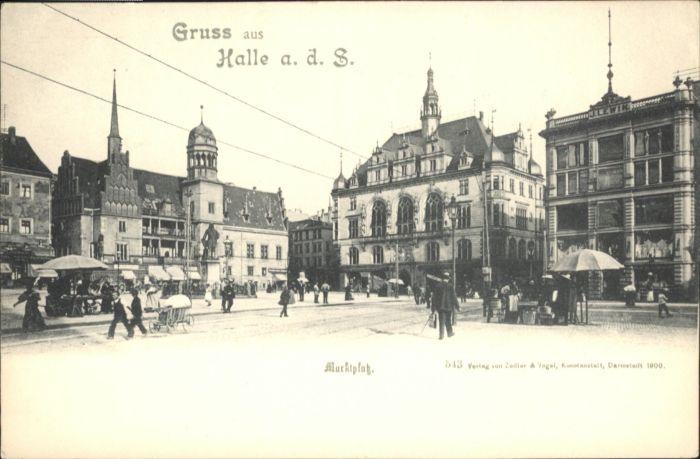 Halle Saale Halle Saale Marktplatz * / Halle /Halle Saale Stadtkreis
