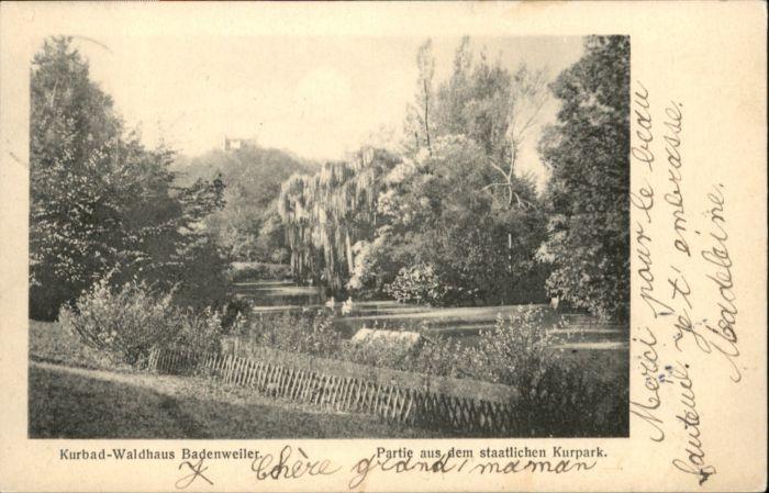 Badenweiler Badenweiler Kurpark x / Badenweiler /Breisgau-Hochschwarzwald LKR